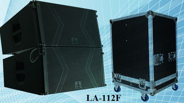 Loa DB LA-112F và thùng đựng