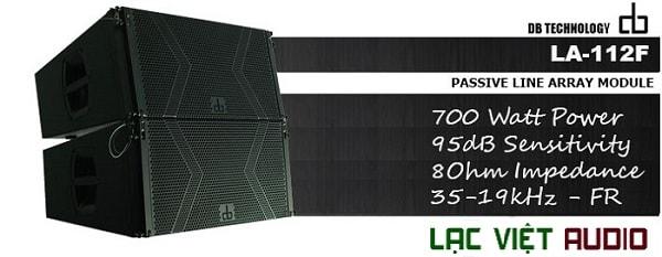Thông số Loa DB LA-112F