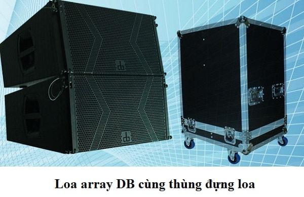 Thùng đựng loa array DB LA-212F