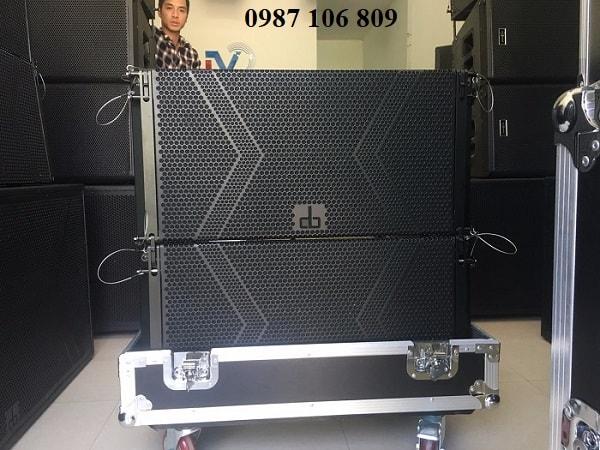 HÌnh ảnh thực tế về loa array DB LA-212F