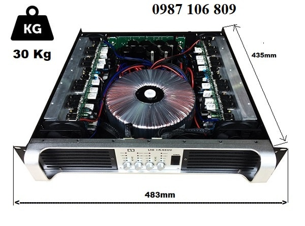 Chi tiết Cục đẩy công suất DB TK4800
