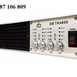 Cục đẩy công suất DB TK4800 main 4 kênh
