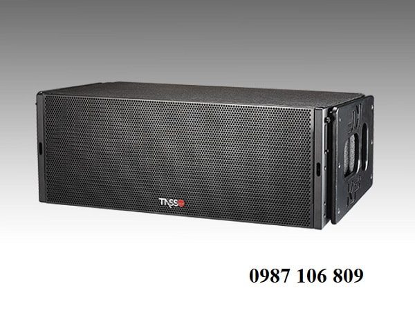 thiết kế loa array Tasso KF660