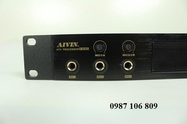 Vang số Aivin K990 kết nối 3 mic