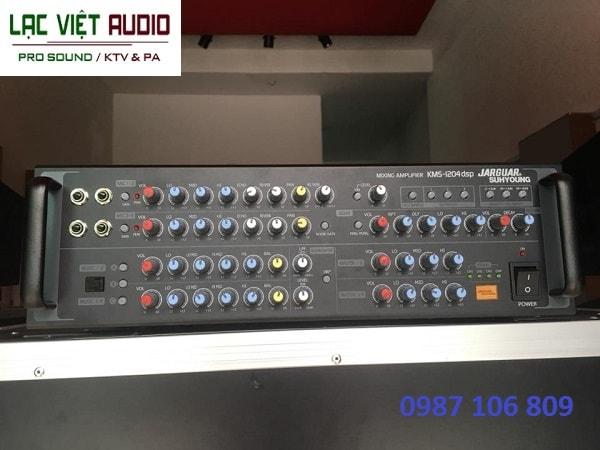Amply Jarguar KMS1204-DSP PRO hiệu ứng âm thanh hấp dẫn