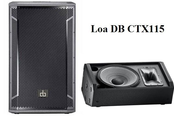 Loa DB CTX115 công suất lớn