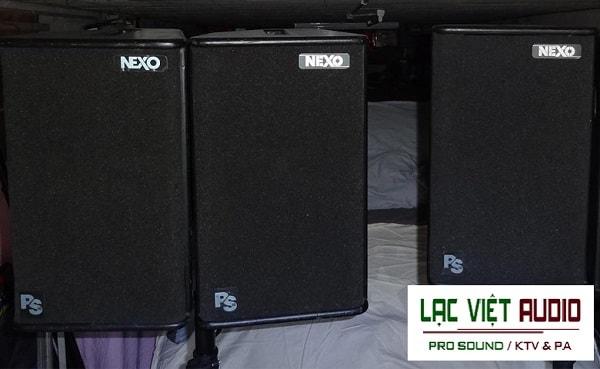 Hình ảnh thực tế Loa Nexo PS10