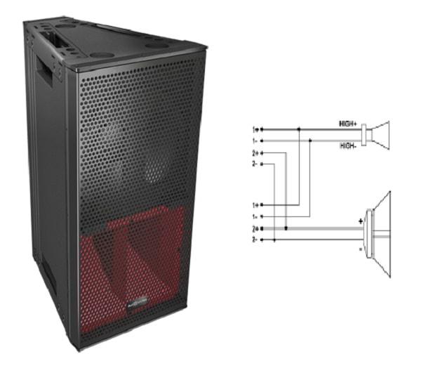 Thiết kế Loa Audiocenter V-HLA10 MKII
