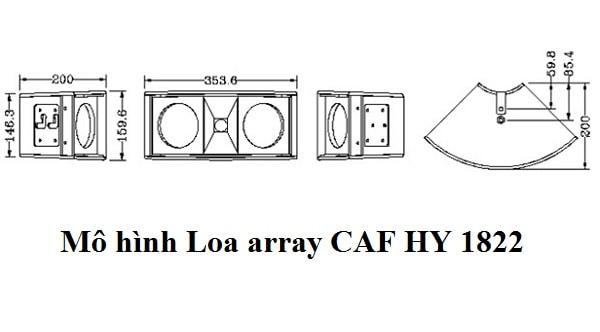 mua loa array CAF HY 1822 – Liên hệ 0987 106 809