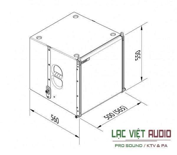 Loa array Tw audio VERA L24 chính hãng