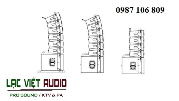 Loa array Wharfedale WLA-25SUB loa siêu trầm