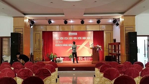 Đơn vị cung cấp dàn âm thanh hội trường tại TPHCM, Hà Nội, Đà Nẵng uy tín, chuyên nghiệp