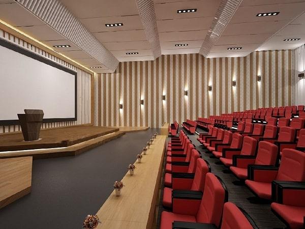 Việc thiết kế hệ thống âm thanh hội trường quyết đinh lớn tới chất lượng của hệ thống