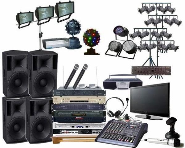 Lắp đặt âm thanh hội trường cần nhiều thiết bị âm thanh khác nhau