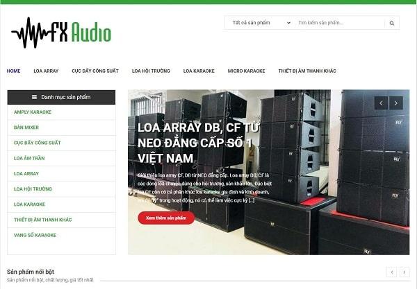 FX Audio - Chuyên cung cấp lắp đặtâm thanh hội nghị miền Trung