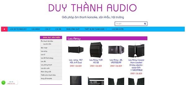 Duy Thành Audio - Đơn vị lắp đặt âm thanh hội nghị uy tín ở miền Nam