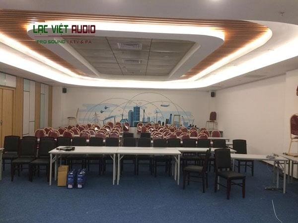 Cấu hình lắp đặt hệ thống âm thanh hội nghị 60-100m2