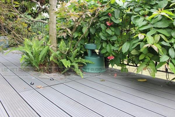Loa sân vườn Bose có thiết kế thân thiện với môi trường