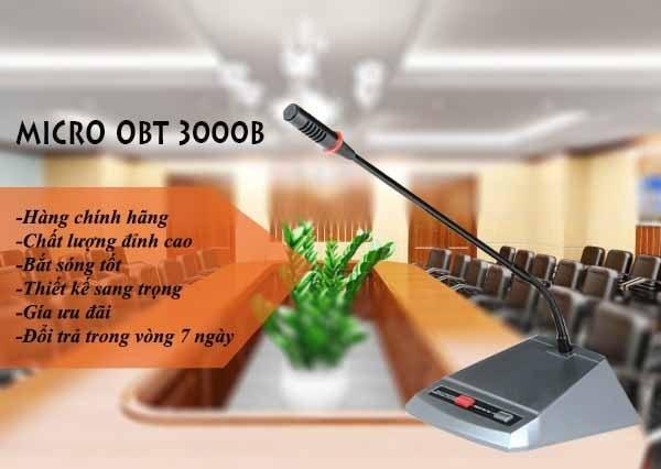 Micro hội thảo OBT-3000B