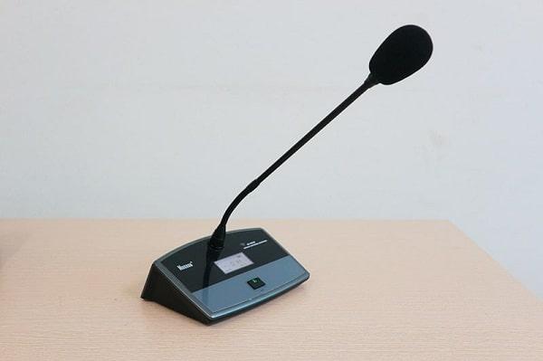 Micro hội thảo rất quan trọng trong các phòng họp, hội nghị, hội thảo