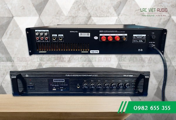 Amply truyền thanh DB LP-480F