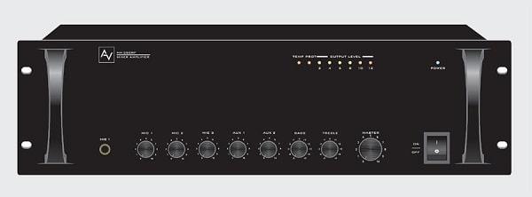 Amply loa truyền thanh AV MA120