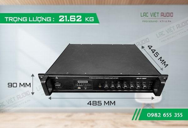 Amply loa truyền thanh DB LP-1000F
