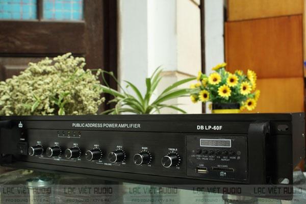 Amply truyền thanh là dòng chuyên dùng cho hệ thống loa thông báo