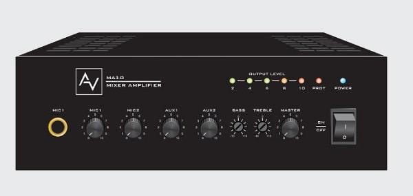 Amply truyền thanh AV MA30