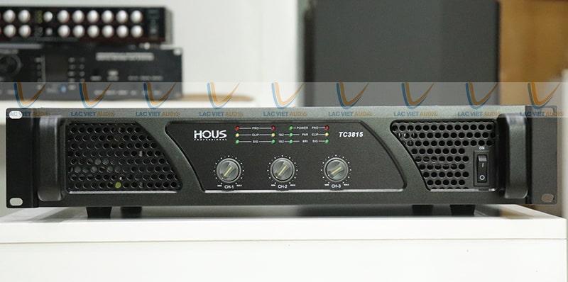 Cục đẩy Công suất HOUS TC-3815 đời mới nhất