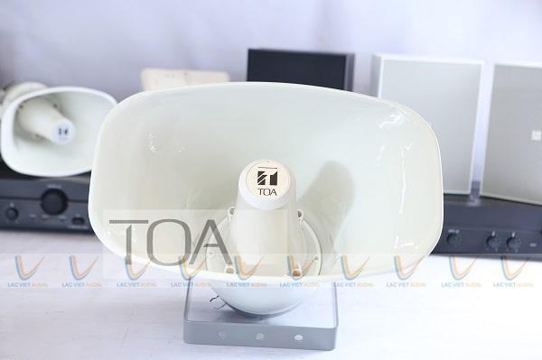 Loa nén TOA SC-651 có thiết kế gọn nhẹ cùng chất âm thanh chân thực