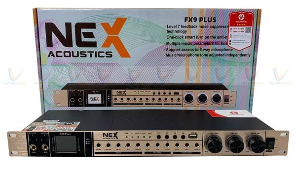 Vang cơ NEX FX9 Plus có khả năng xử lý âm thanh vượt trội