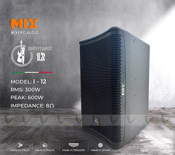 Loa karaoke MIX i12K chính hãng